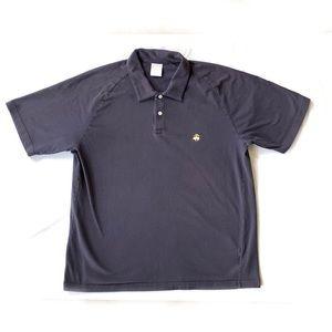 Brooks Brothers 346 XL Navy Short Sleeve Polo